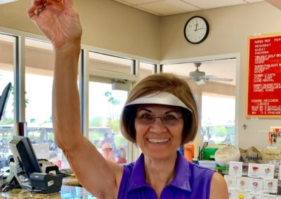 DVWG 2019 Ladies Fun Day - Accuracy Drive #8 Lorraine Snider 04-24-2019