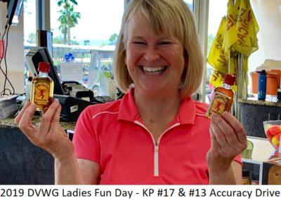 DVWG 2019 Ladies Fun Day - KP #17+Accuracy #13. Teresa Pirkl 04-24-2019
