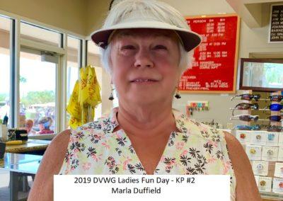 DVWG 2019 Ladies Fun Day - KP #2. Marla Duffield 04-24-2019