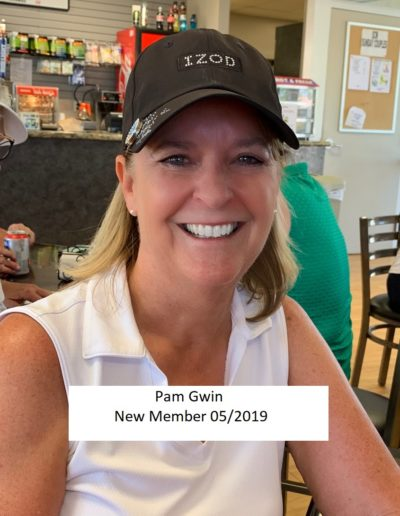 Pam Gwin New Member 5-2019